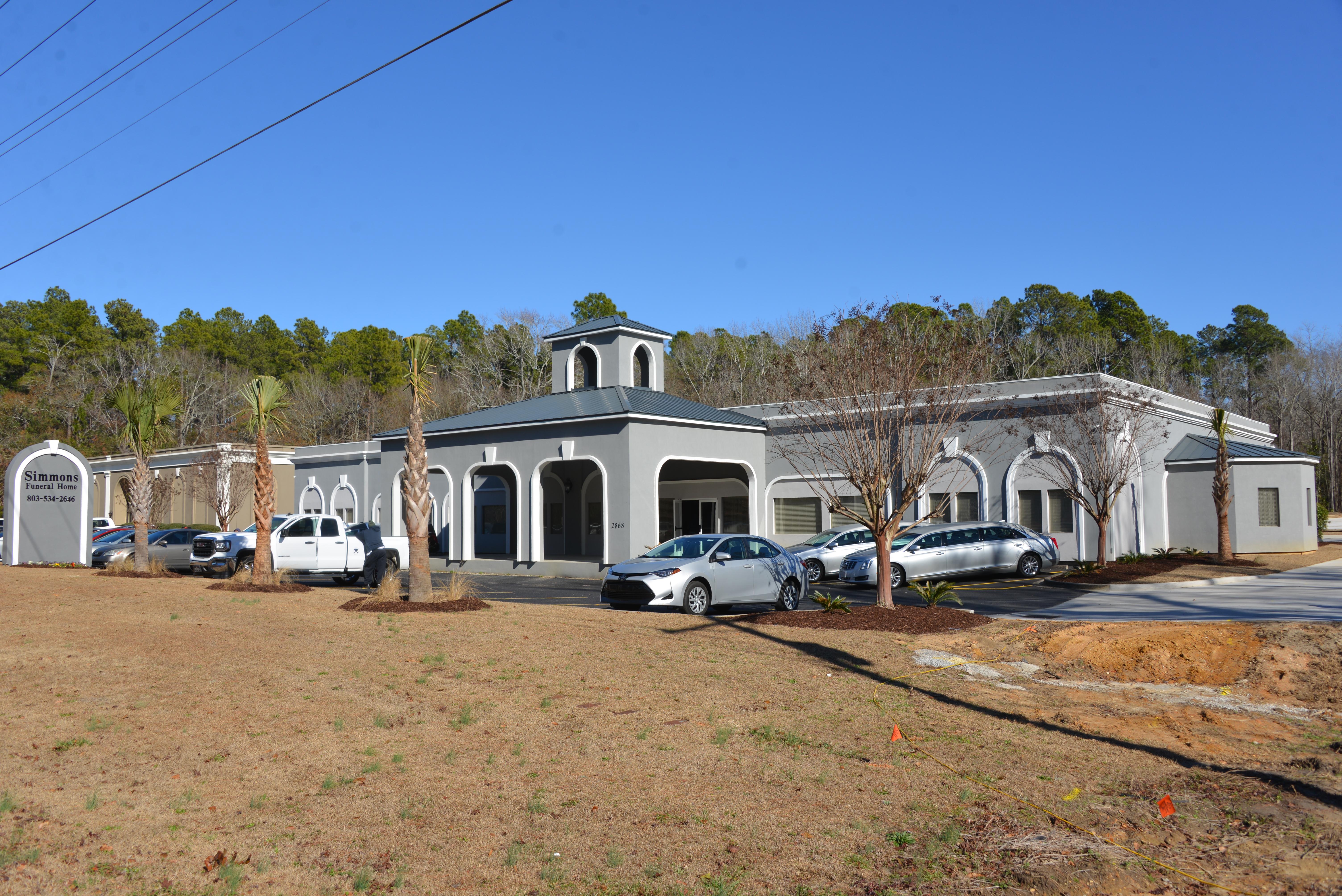 Simmons Funeral Home - Orangeburg, South Carolina and Santee